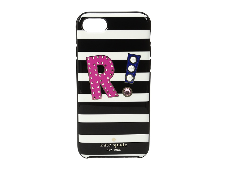 Kate Spade New York - Initial R Phone Case for iPhone 7 (Multi) Cell Phone Case