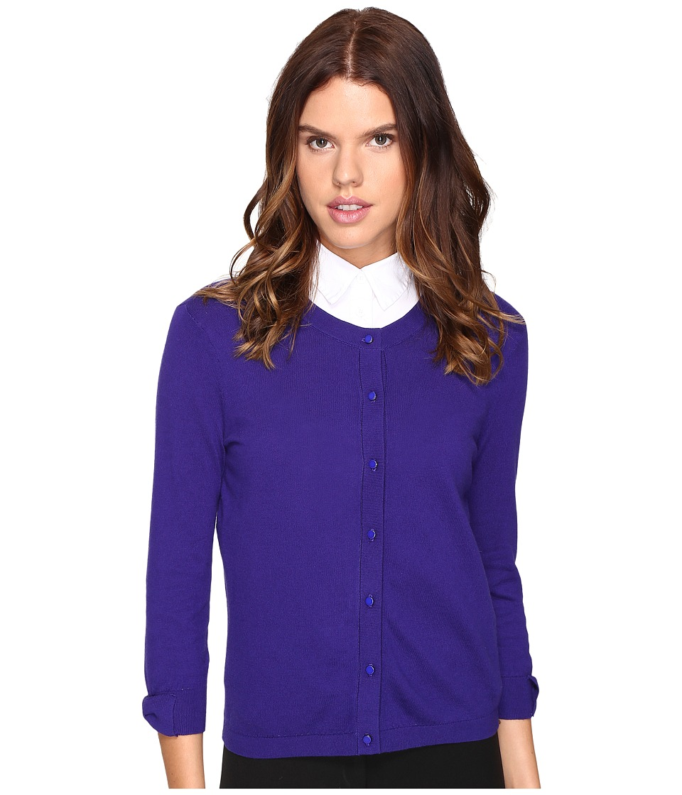 Kate Spade New York - Somerset Cardigan (Nightlife Blue) Women's Sweater