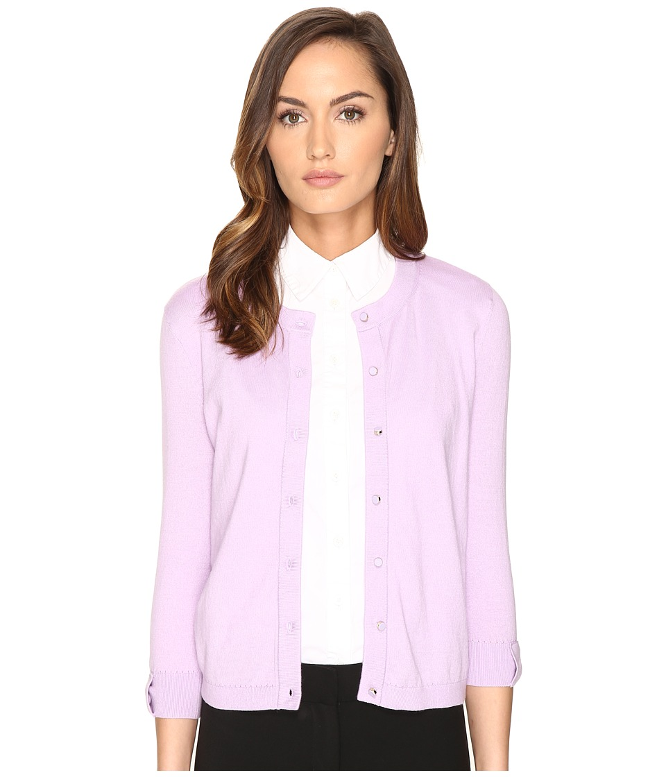 Kate Spade New York - Somerset Cardigan (Lilac Charm) Women's Sweater