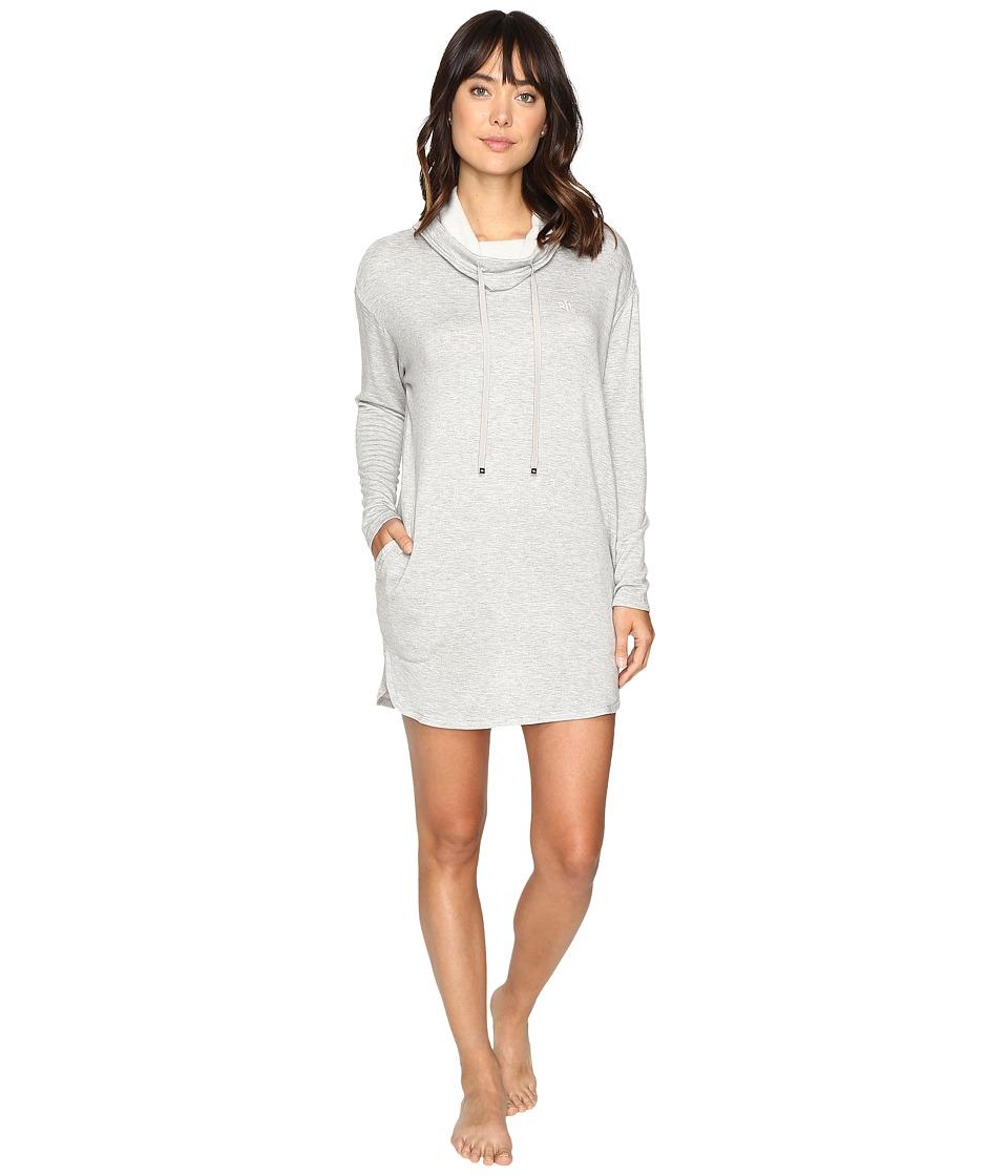 LAUREN Ralph Lauren - Lounge Lounger Nightgown (Heather Grey) Women's Pajama
