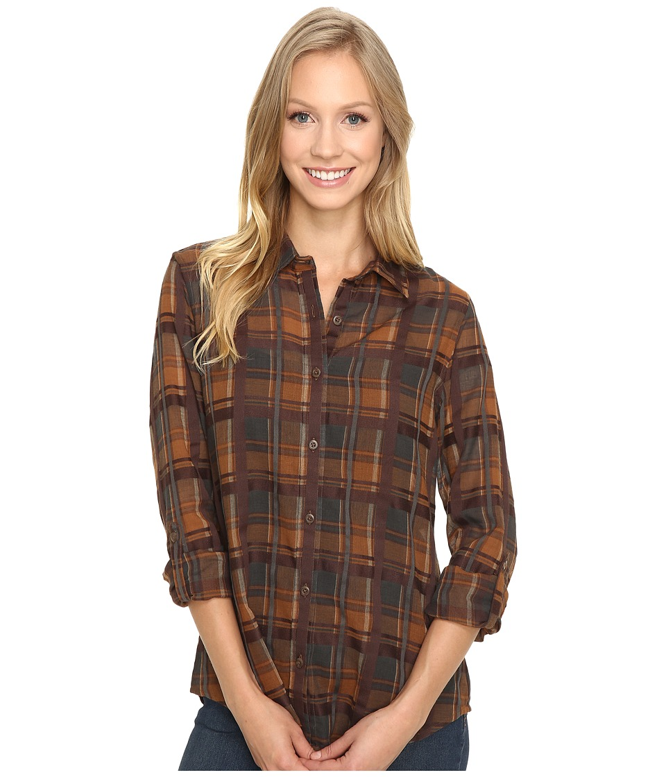 Pendleton - Zena Shirt (Plaid Shirting) Women's Long Sleeve Button Up