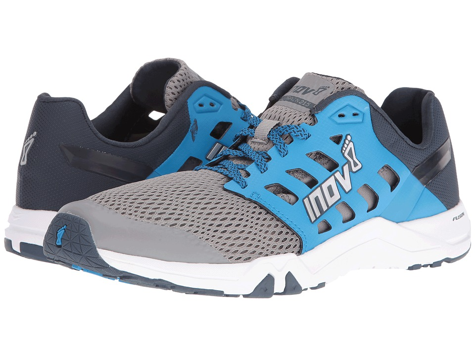 inov-8 - All Train 215 (Grey/Blue/Navy) Men's Shoes
