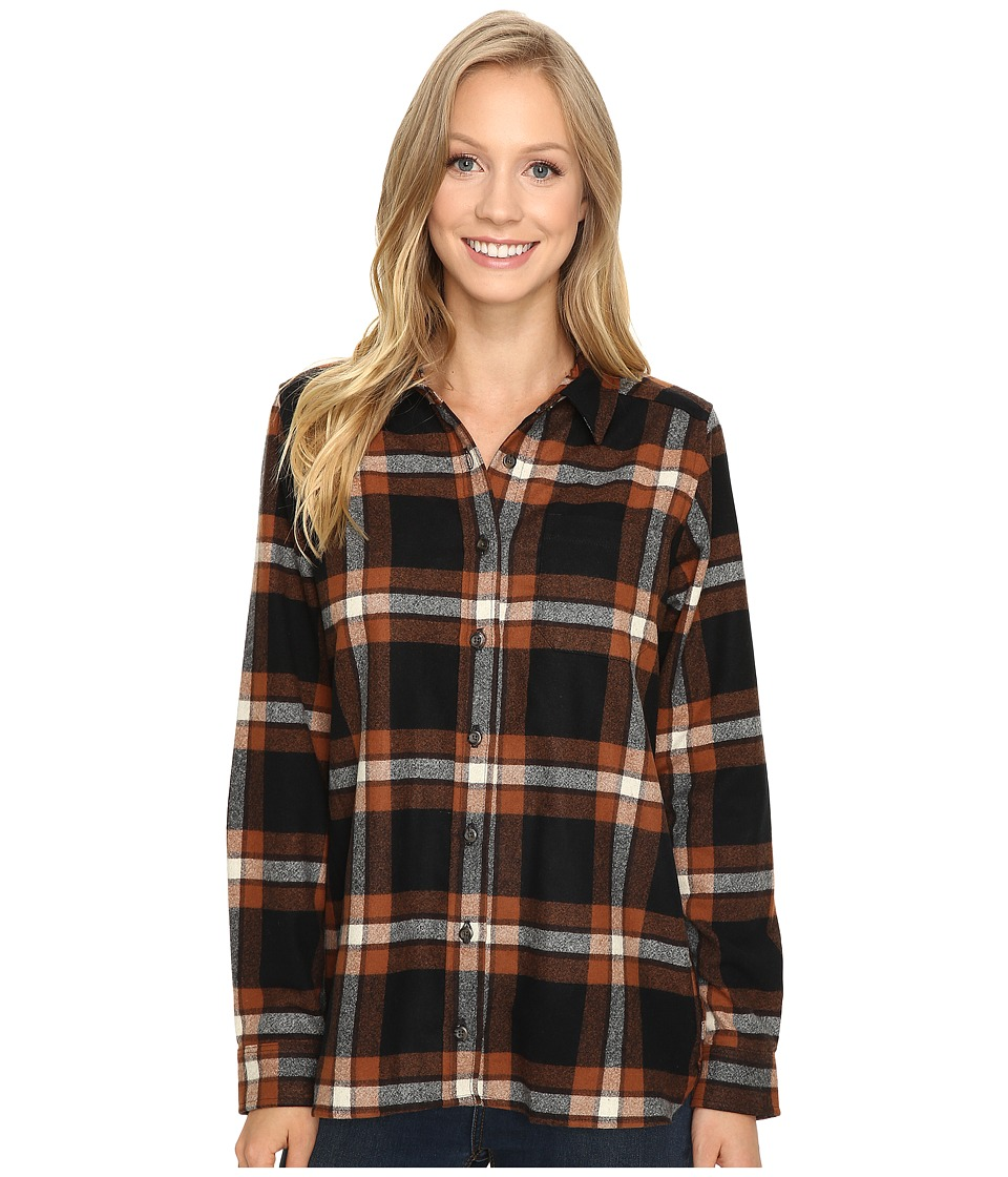 Pendleton - Meredith Shirt (Black/Brown Plaid) Women's Clothing