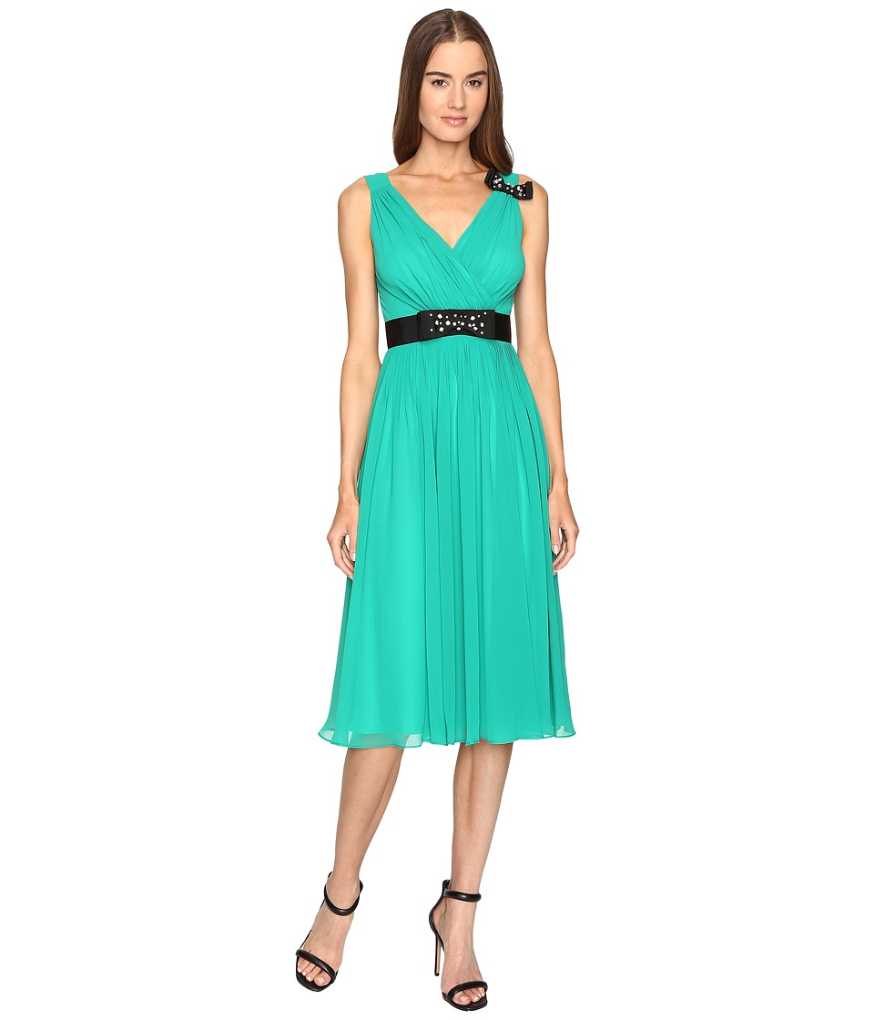 Kate Spade New York Embellished Bow Dress (Emerald Ring) Women