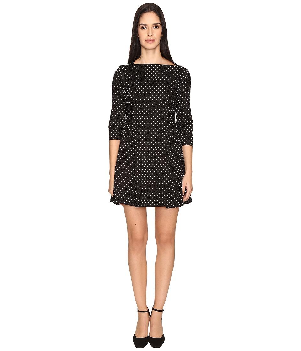 Kate Spade New York - Dot Everyday Dress (Black/Cream) Women's Dress