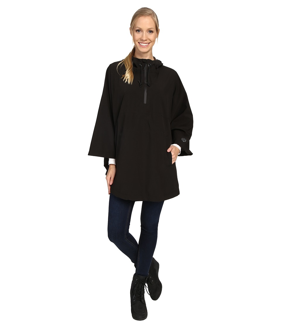Khombu - Poncho (Caviar) Women's Clothing