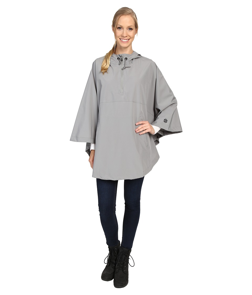 Khombu - Poncho (Wild Dove) Women's Clothing