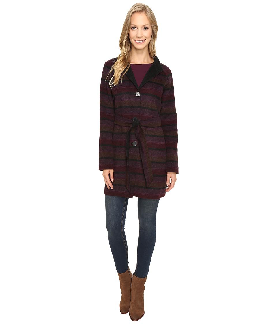 Pendleton Portfolio Jacket (Plum Multi Stripe Double Face) Women