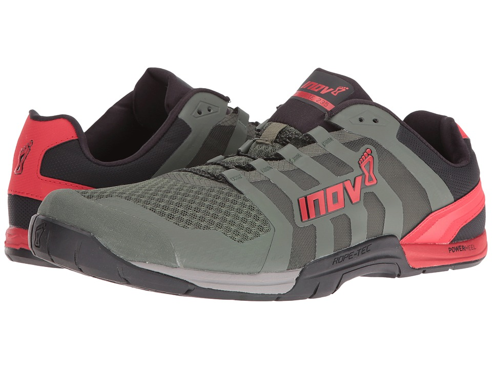 inov-8 - F-Lite 235 V2 (Dark Green/Black/Red) Men's Shoes
