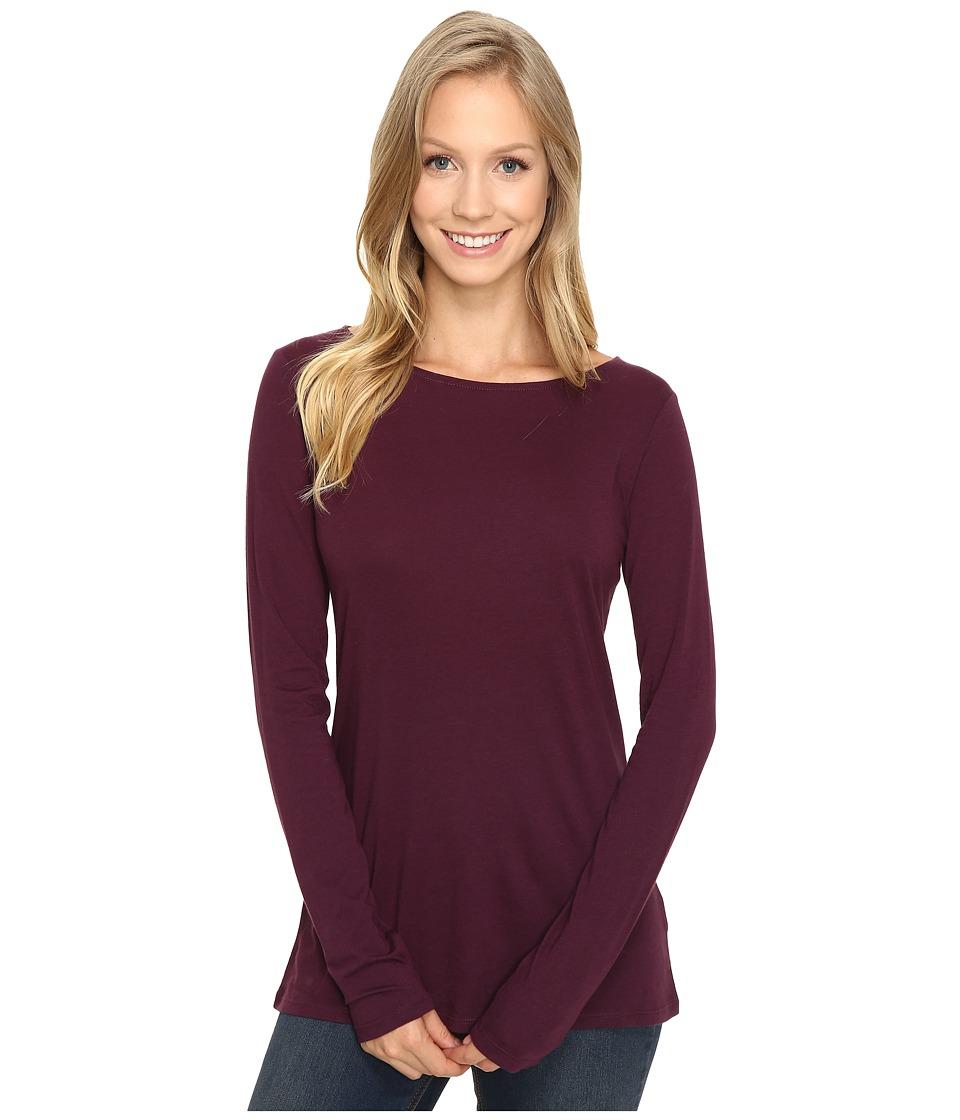 Pendleton - Bateau Tee (Plum) Women's T Shirt