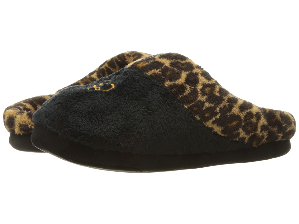 LAUREN Ralph Lauren - Holiday Leopard Slippers (Leopard) Women's Slippers