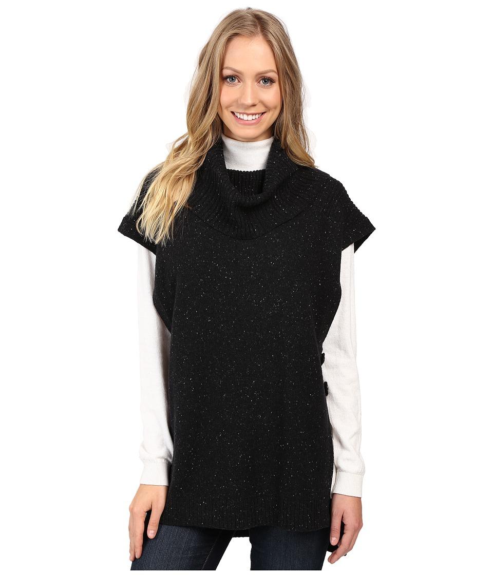 Pendleton - Yamhill Pullover (Black Tweed) Women's Sweater