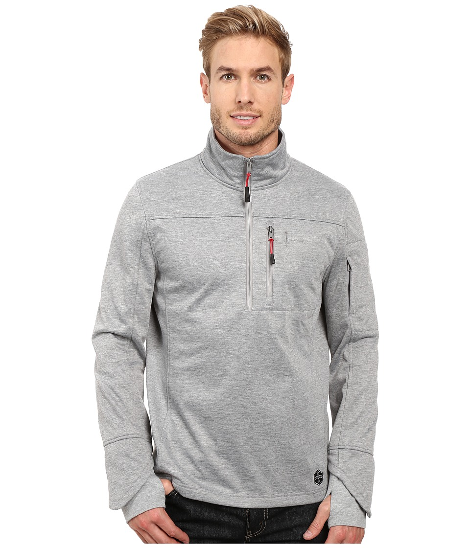 Khombu - Melange (Charcoal Grey Heather) Men's Clothing