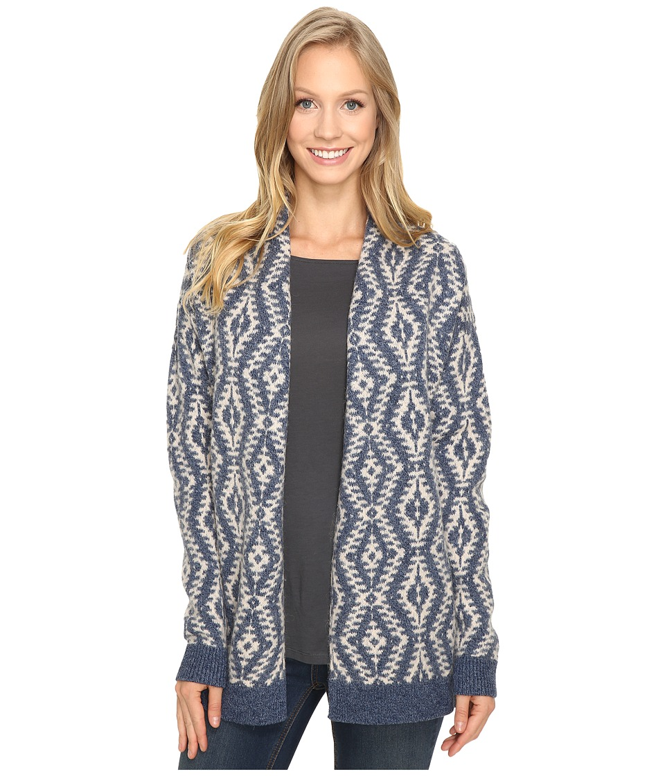 Pendleton - Carlton Cardigan (Denim/Natural) Women's Sweater