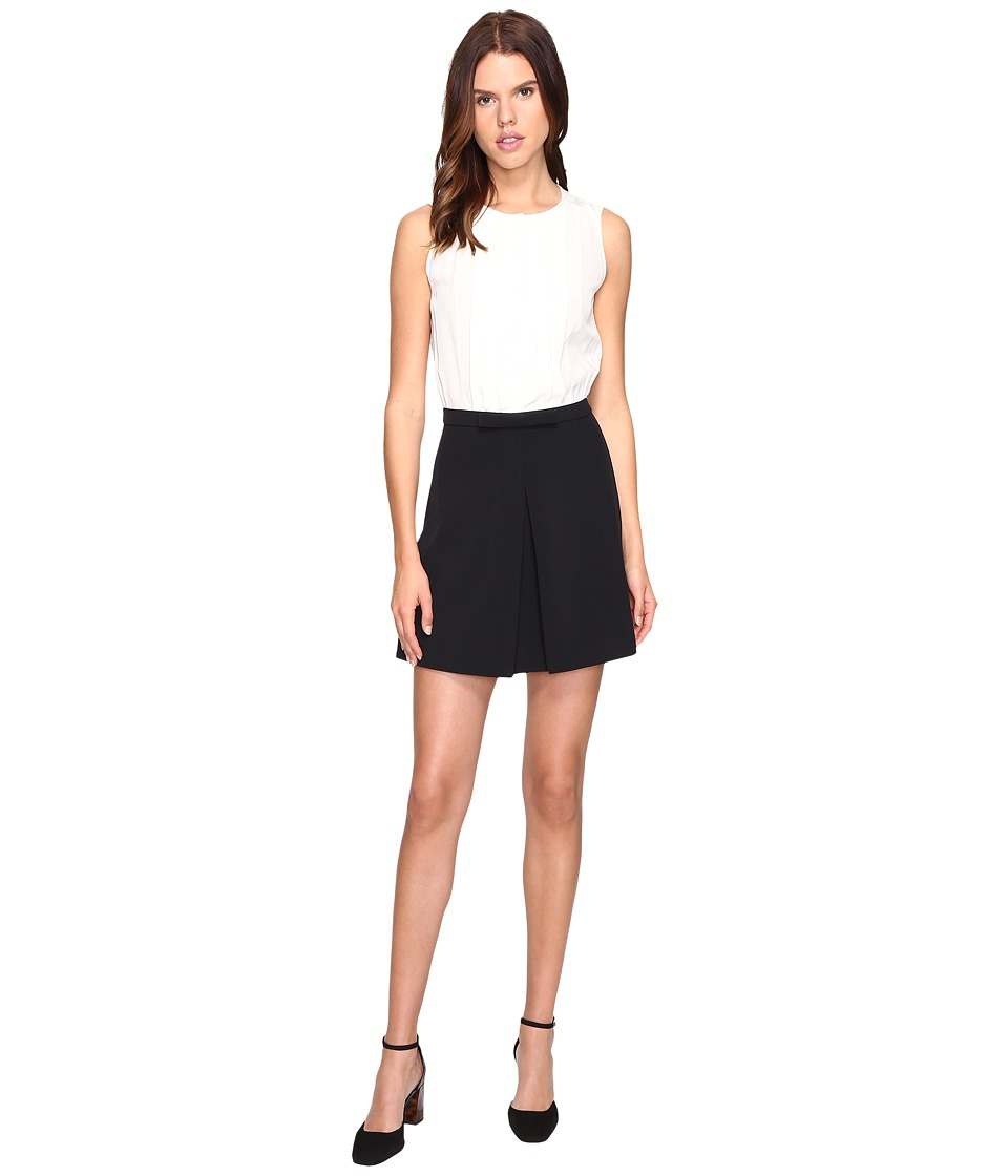 Kate Spade New York - Tuxedo Romper (French Cream) Women's Jumpsuit & Rompers One Piece