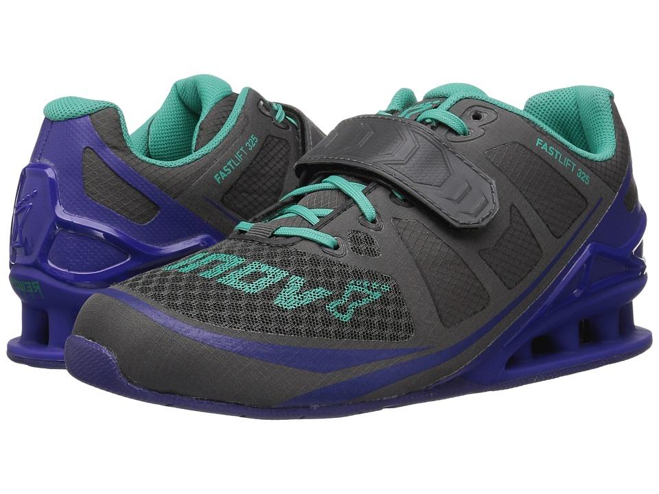 inov-8 - Fastlift 325 (Dark Grey/Purple/Teal) Women's Shoes