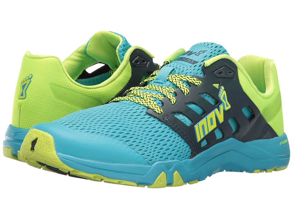 inov-8 - All Train 215 (Black/Navy/Neon Yellow) Women's Shoes