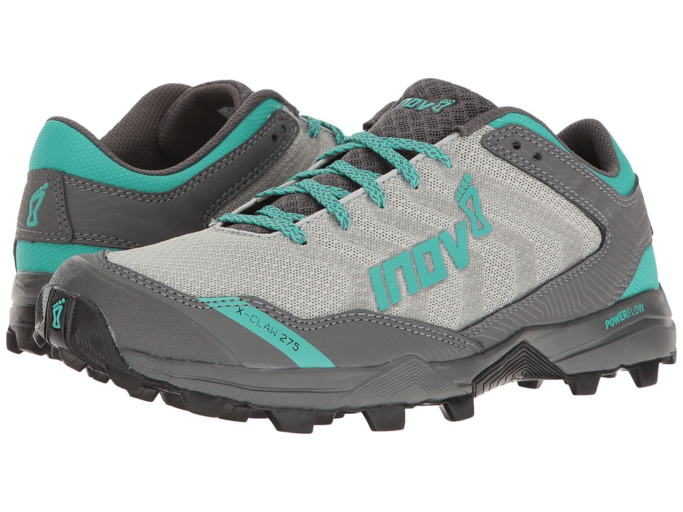 inov-8 - X-Claw 275 Chill (Silver/Teal/Grey) Women's Shoes