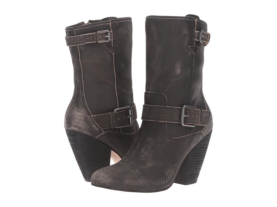 CC Corso Como Somers (Black Worn Leather) Women