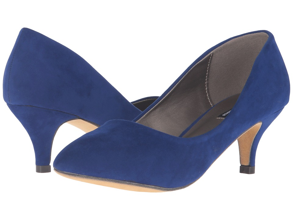 Michael Antonio - Jimmy - Suede (Cobalt) Women's 1-2 inch heel Shoes