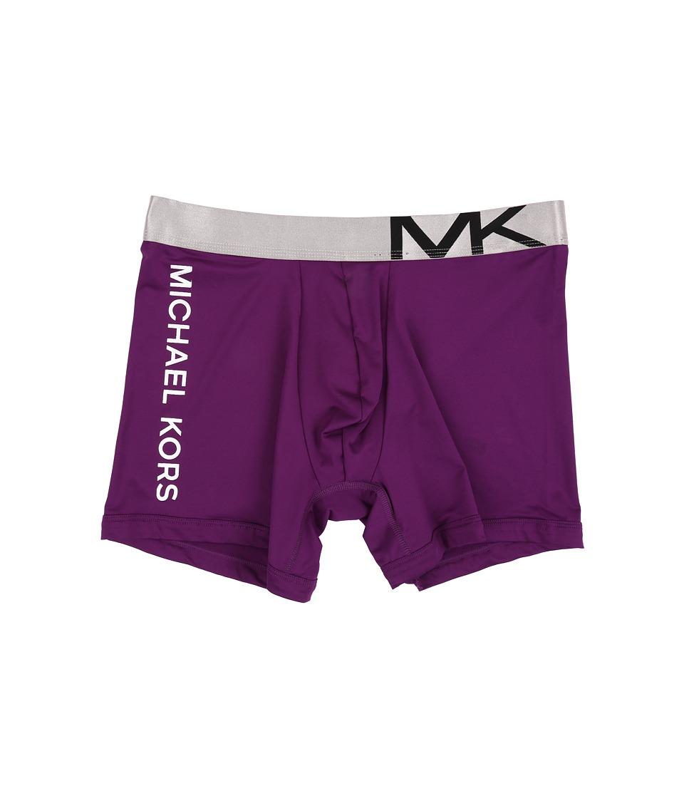 Michael Kors - Statement Icon Boxer Brief (Purple Dragon) Men's Underwear