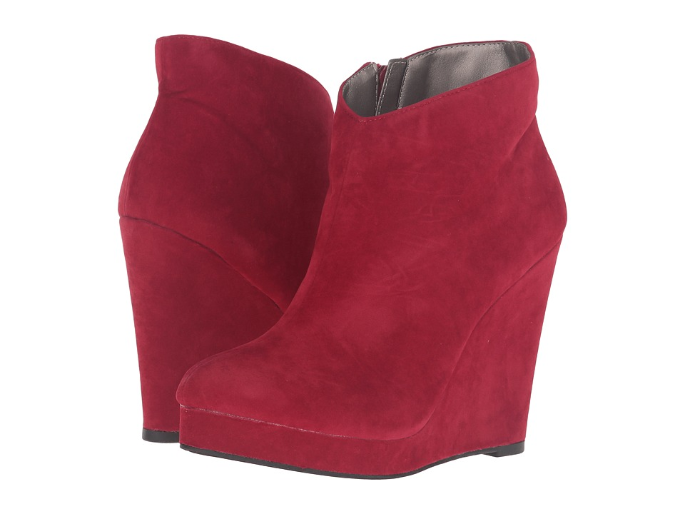 Michael Antonio Cerras Suede Velvet (Red) Women