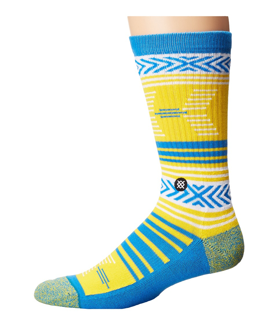 Stance - Mazed UCLA (Blue) Men's Crew Cut Socks Shoes