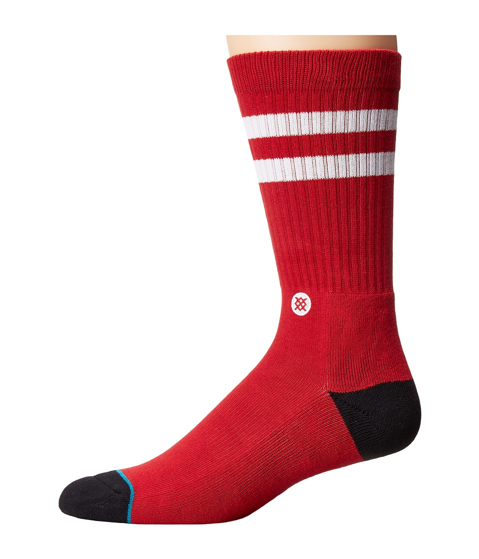 Stance - Bama (Crimson) Men's Crew Cut Socks Shoes