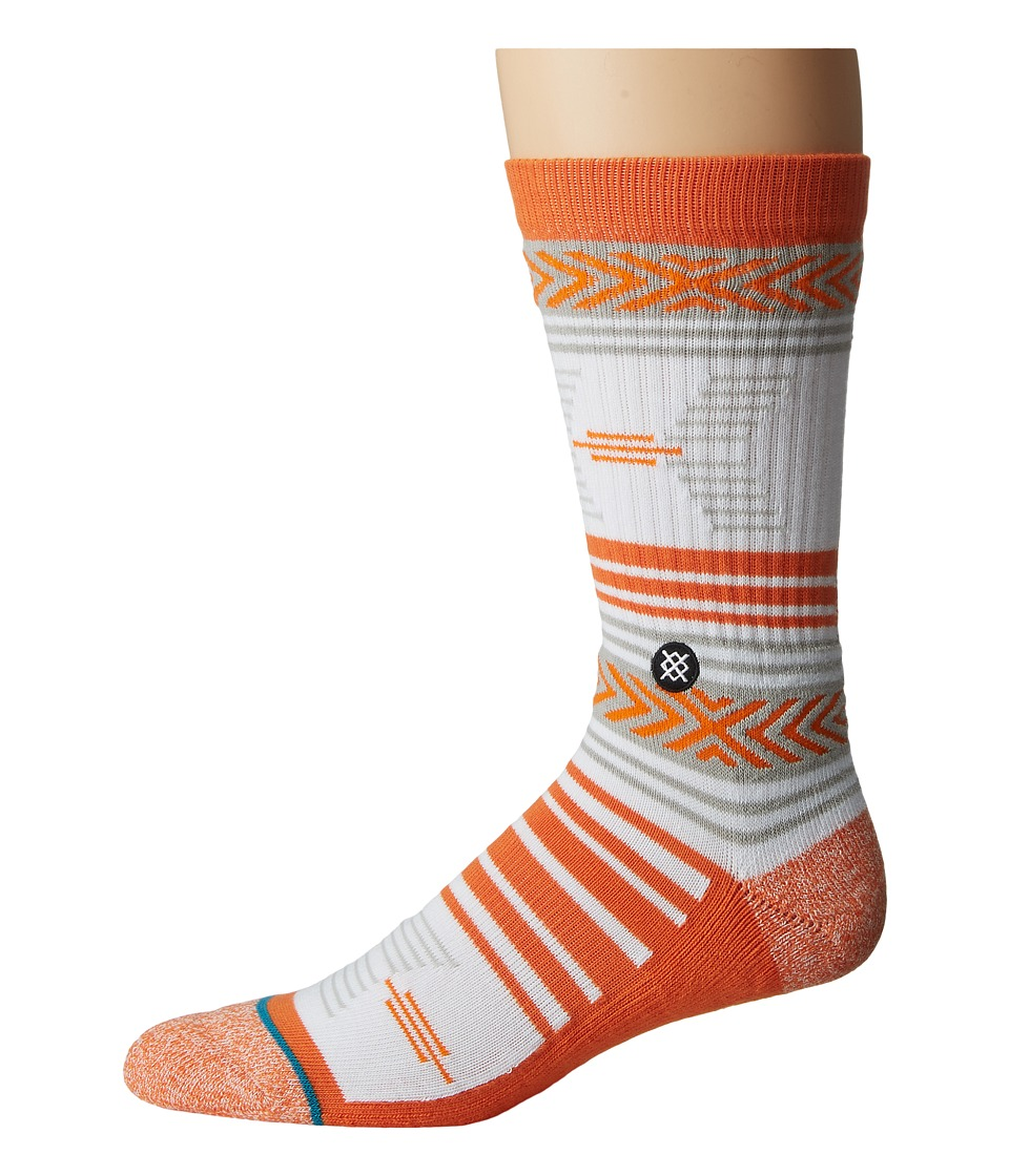 Stance - Mazed Oklahoma State (Orange) Men's Crew Cut Socks Shoes