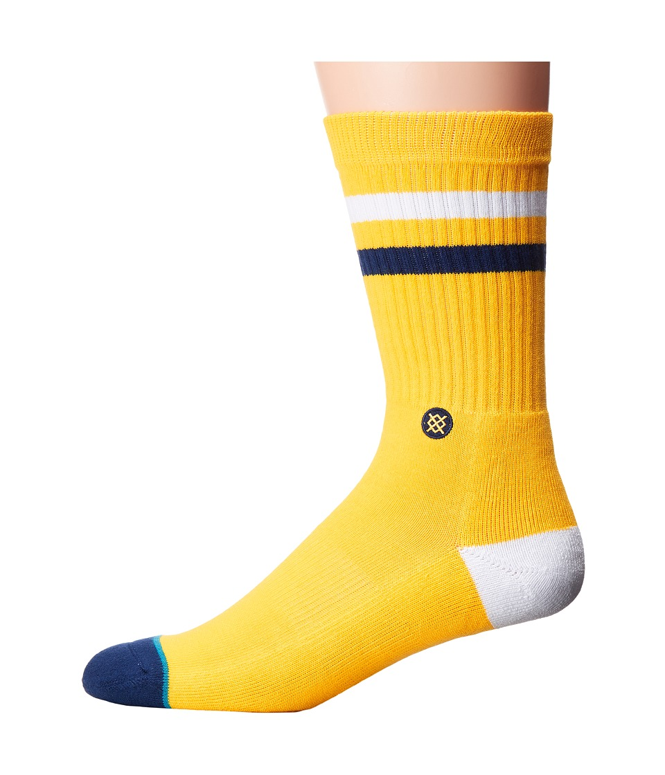 Stance - Cal Bears (Gold) Men's Crew Cut Socks Shoes