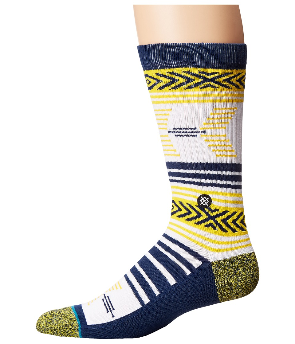 Stance - Mazed UCB (Blue) Men's Crew Cut Socks Shoes