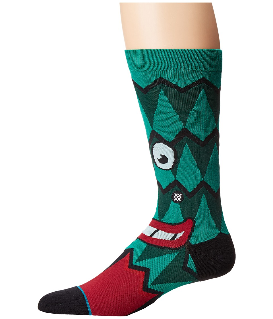 Stance - Stanford Tree (Cardinal) Men's Crew Cut Socks Shoes