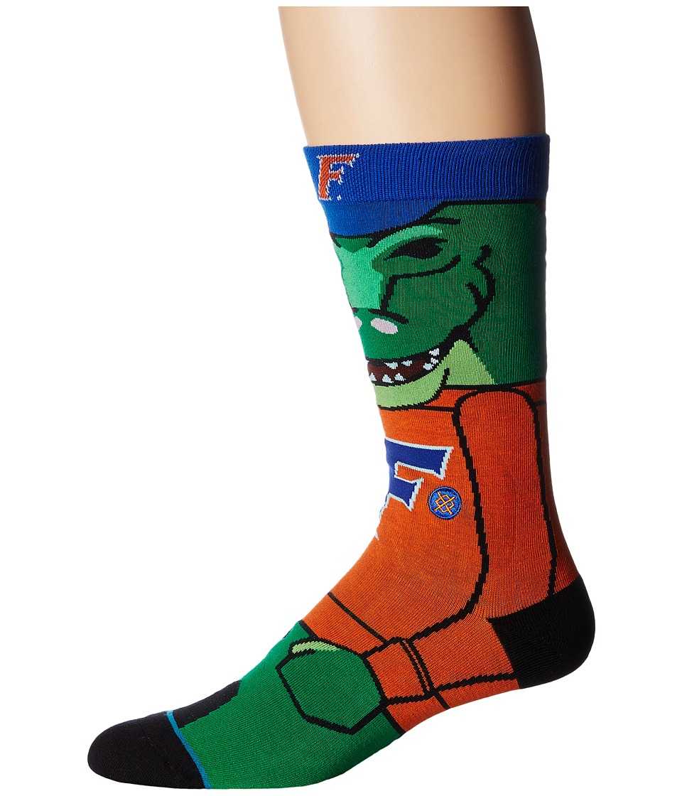 Stance - Albert (Orange) Men's Crew Cut Socks Shoes
