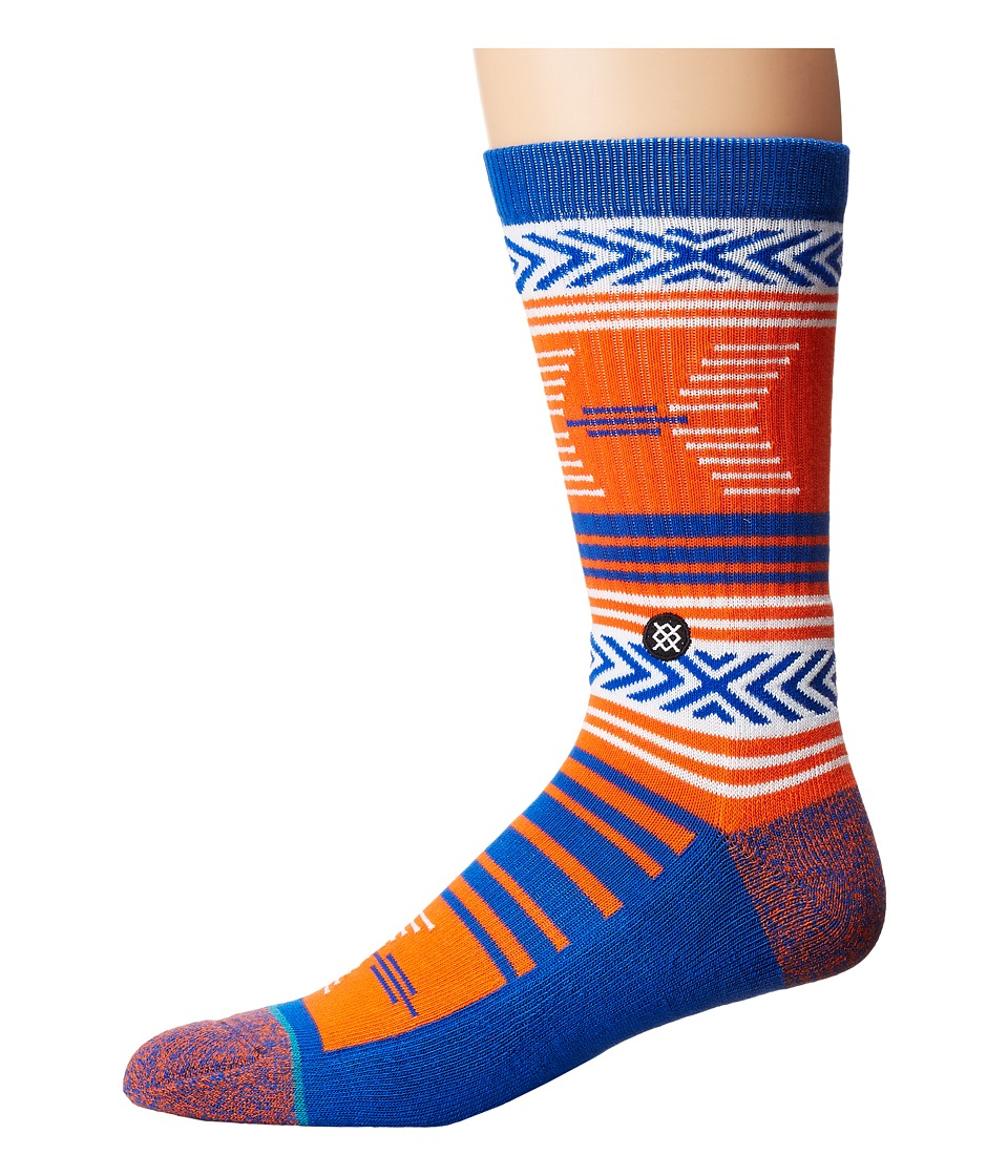 Stance - Mazed Florida (Blue) Men's Crew Cut Socks Shoes