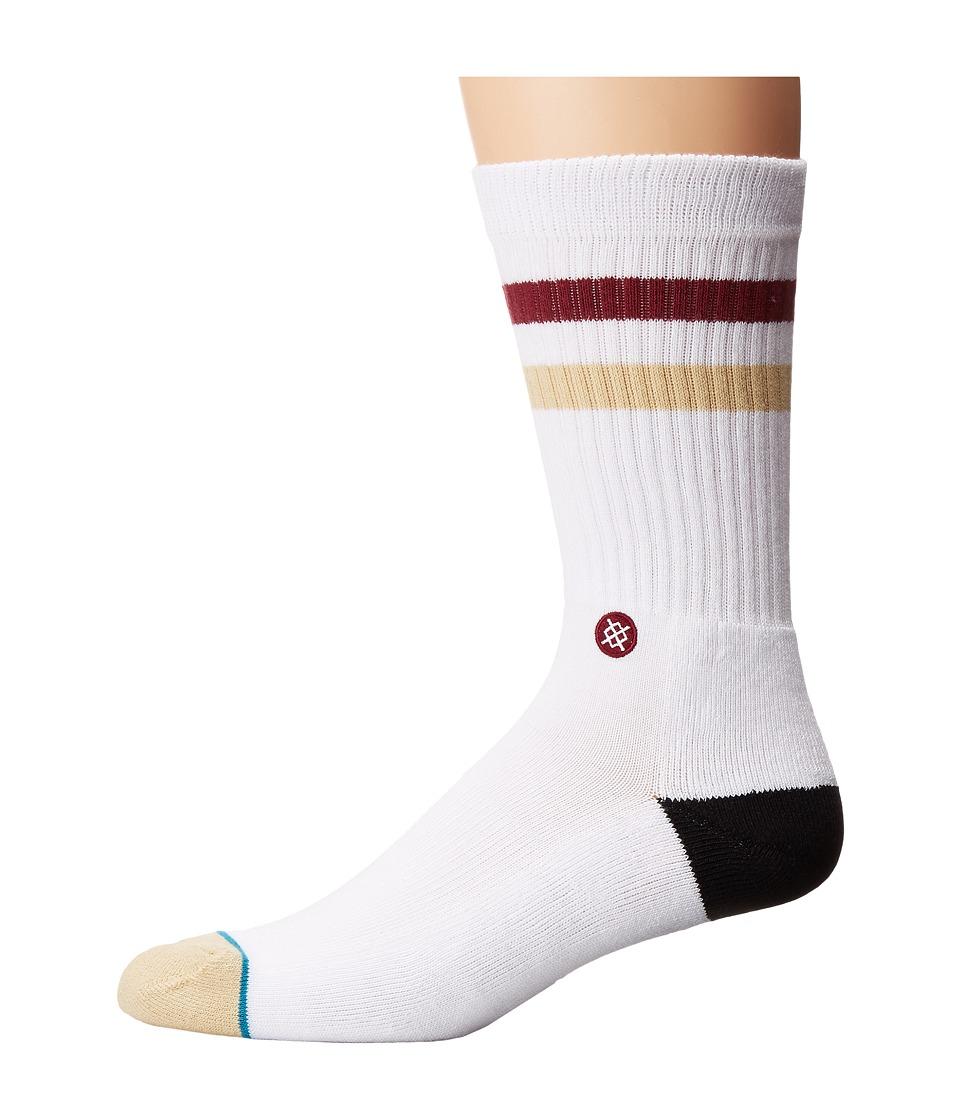 Stance - Noles (Garnet) Men's Crew Cut Socks Shoes
