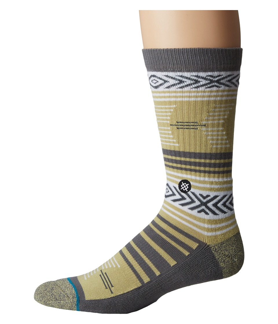 Stance - Mazed Colorado (Grey) Men's Crew Cut Socks Shoes