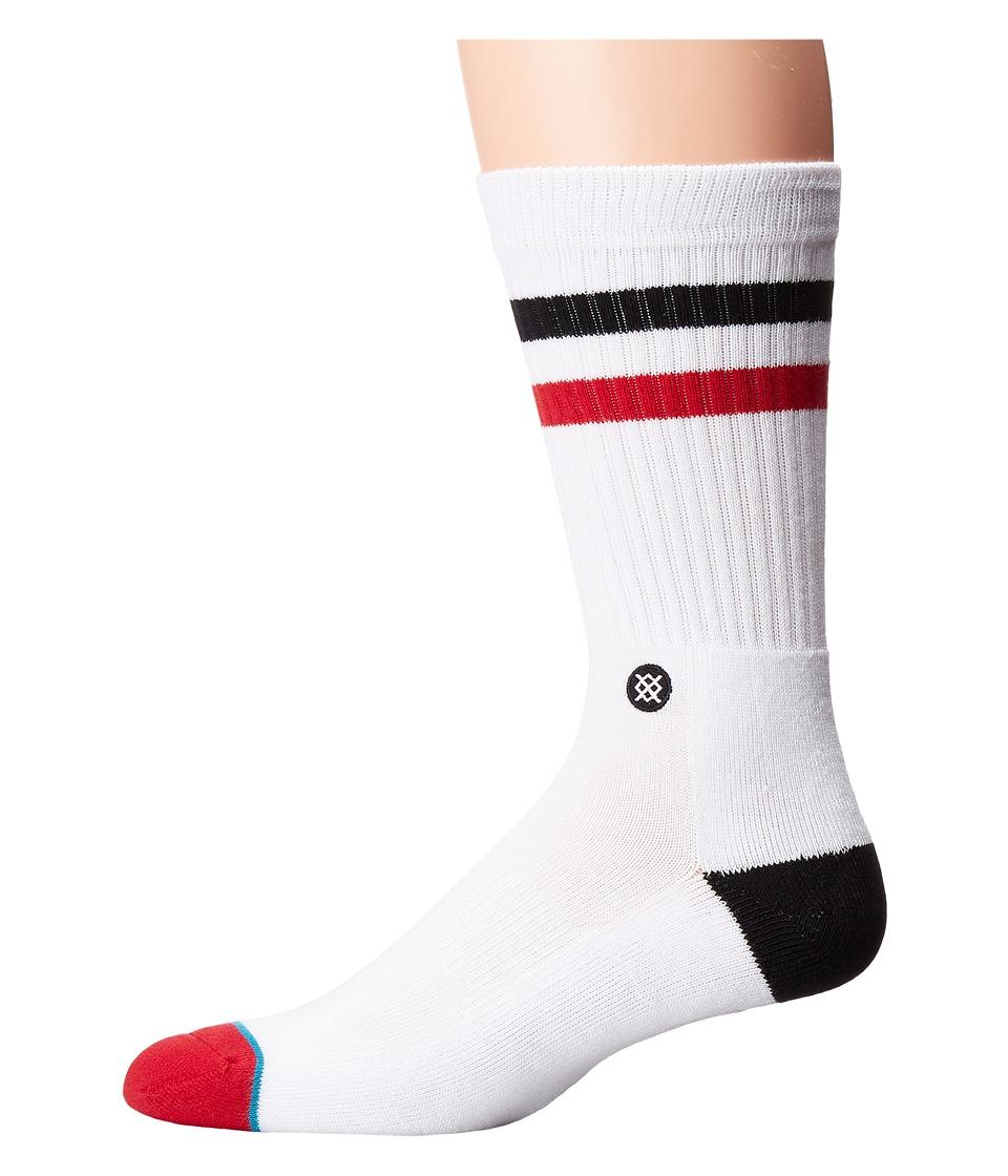 Stance - Utes (White) Men's Crew Cut Socks Shoes