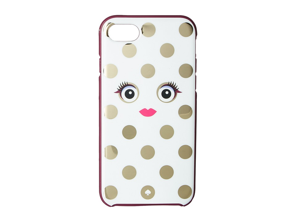 Kate Spade New York - Framed Picture Dot Monster Phone Case for iPhone 7 (Multi) Cell Phone Case