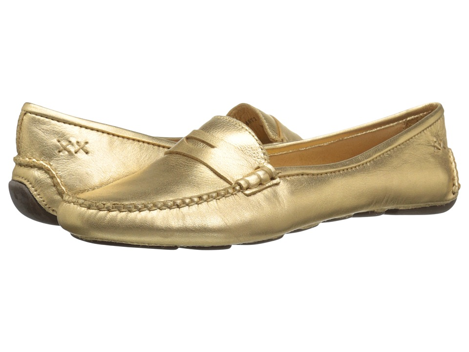 Patricia Green - Bristol (Gold Metallic) Women's Flat Shoes