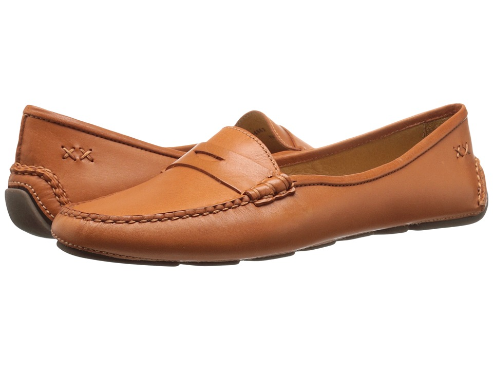 Patricia Green - Bristol (Orange) Women's Flat Shoes