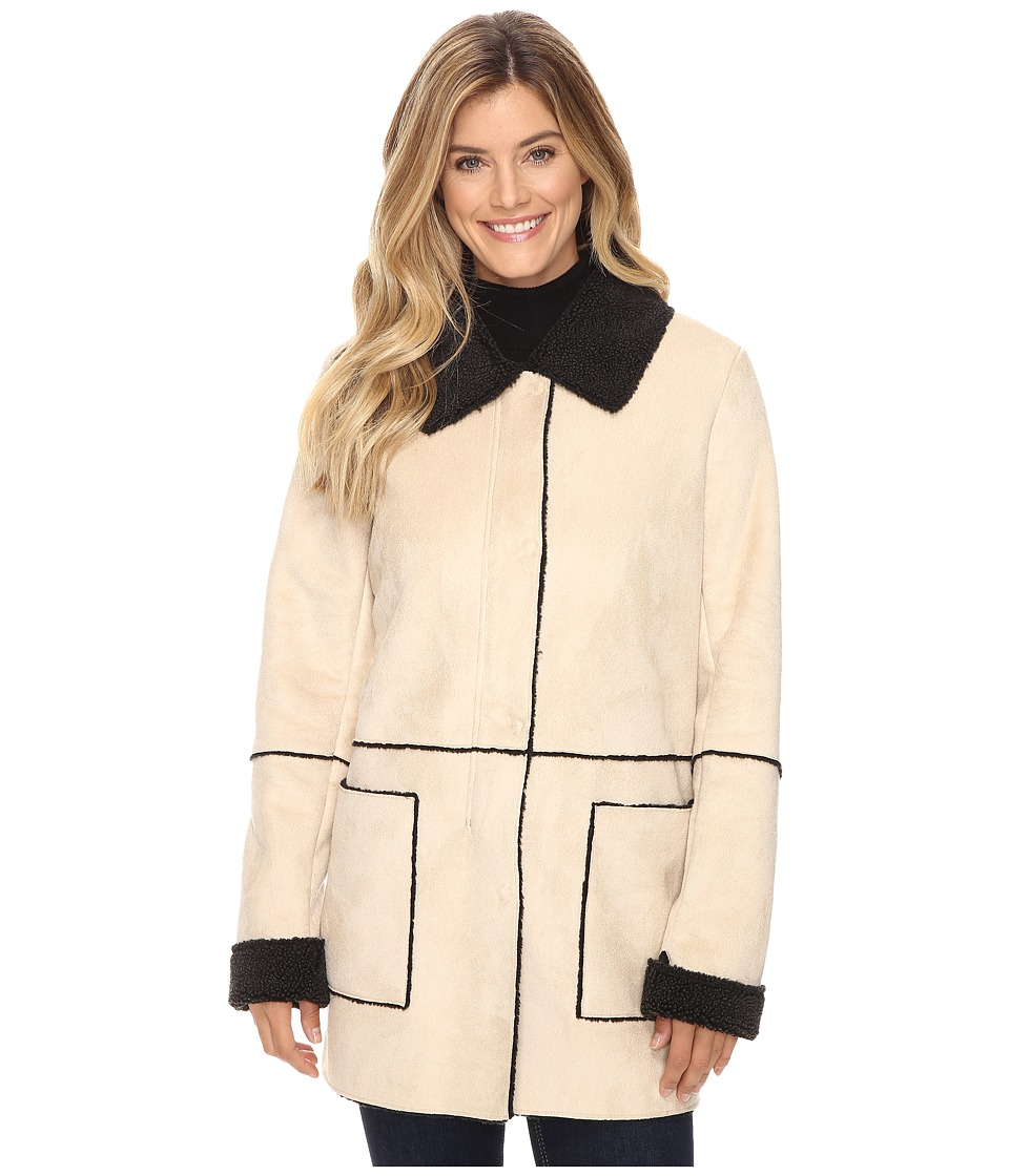 Pendleton - Shannon Coat (Soft Camel Faux Suede) Women's Coat