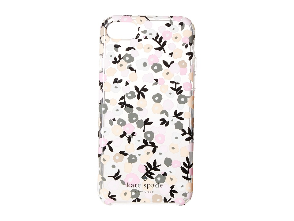 Kate Spade New York - Ditsy Floral Phone Case for iPhone 7 (Clear Multi) Cell Phone Case