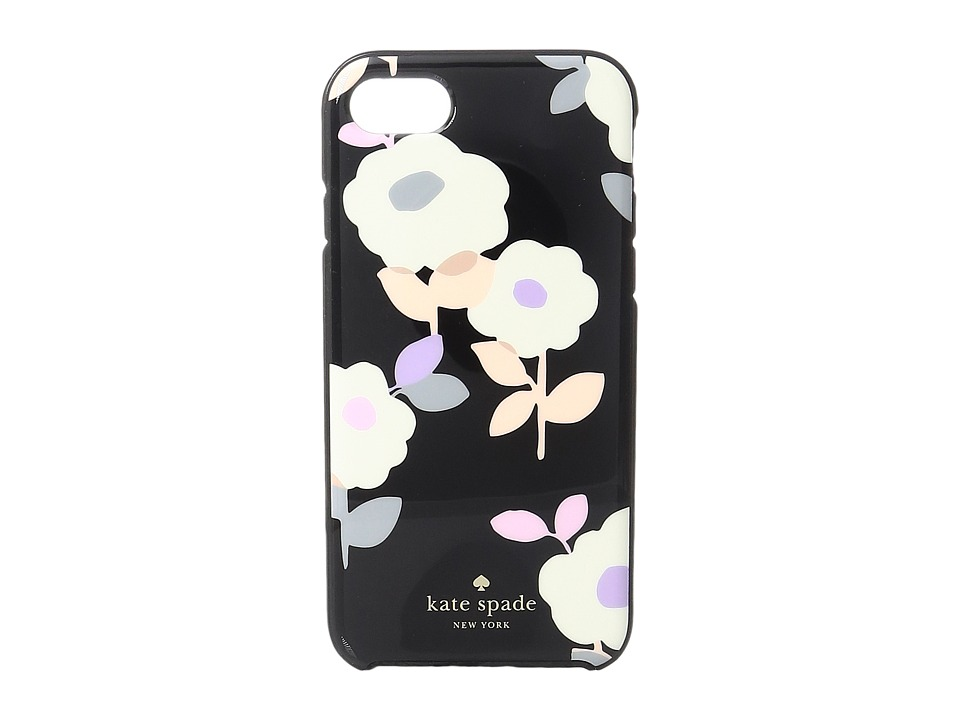 Kate Spade New York - Floral Garden Phone Case for iPhone 7 (Black Multi) Cell Phone Case