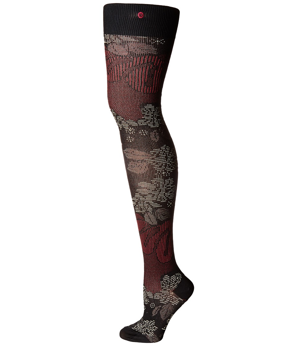 Stance - Lotus Thigh High (Pink) Women's Thigh High Socks Shoes