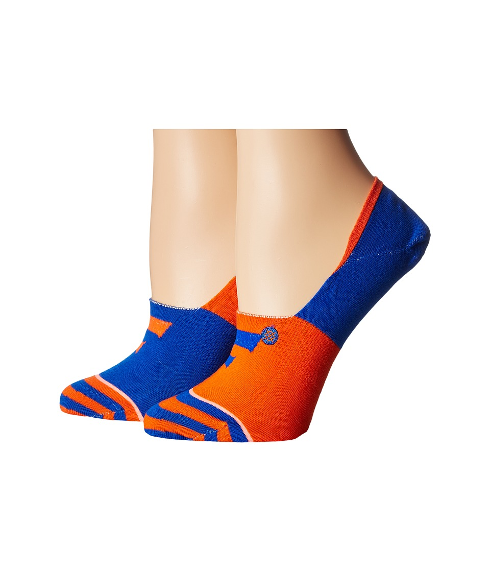 Stance - The Swamp (Orange) Women's Crew Cut Socks Shoes