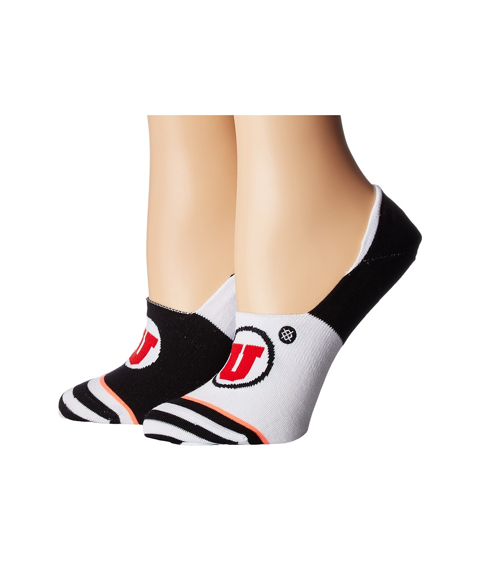 Stance - Utes (White) Women's Crew Cut Socks Shoes