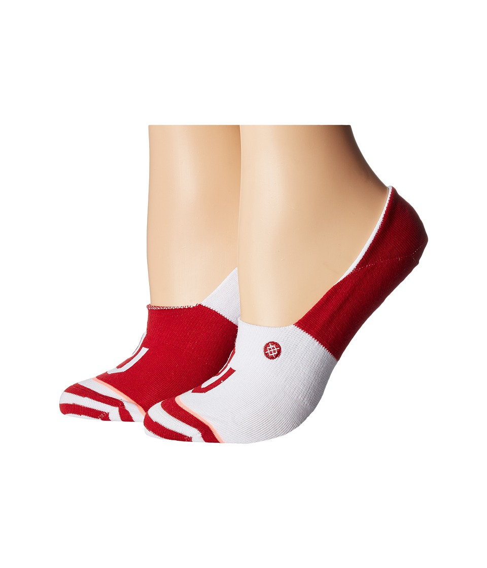 Stance - Sooners (White) Women's Crew Cut Socks Shoes