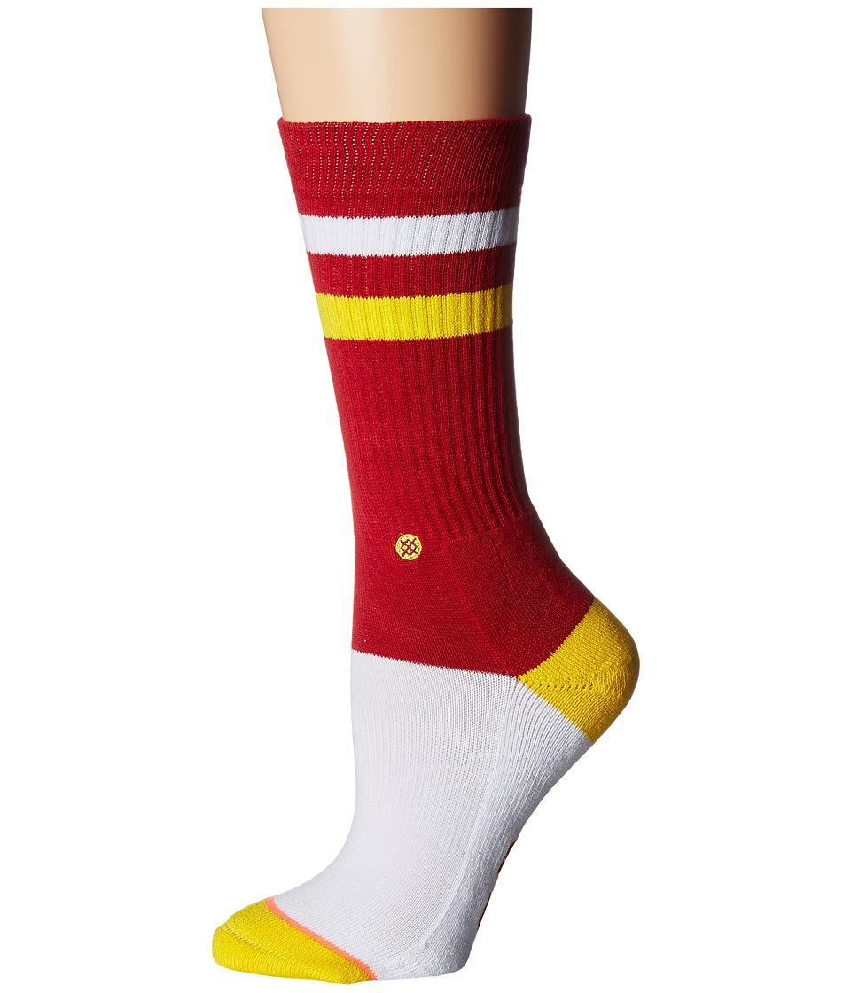 Stance - USC Fight Classic Crew (Maroon) Women's Crew Cut Socks Shoes