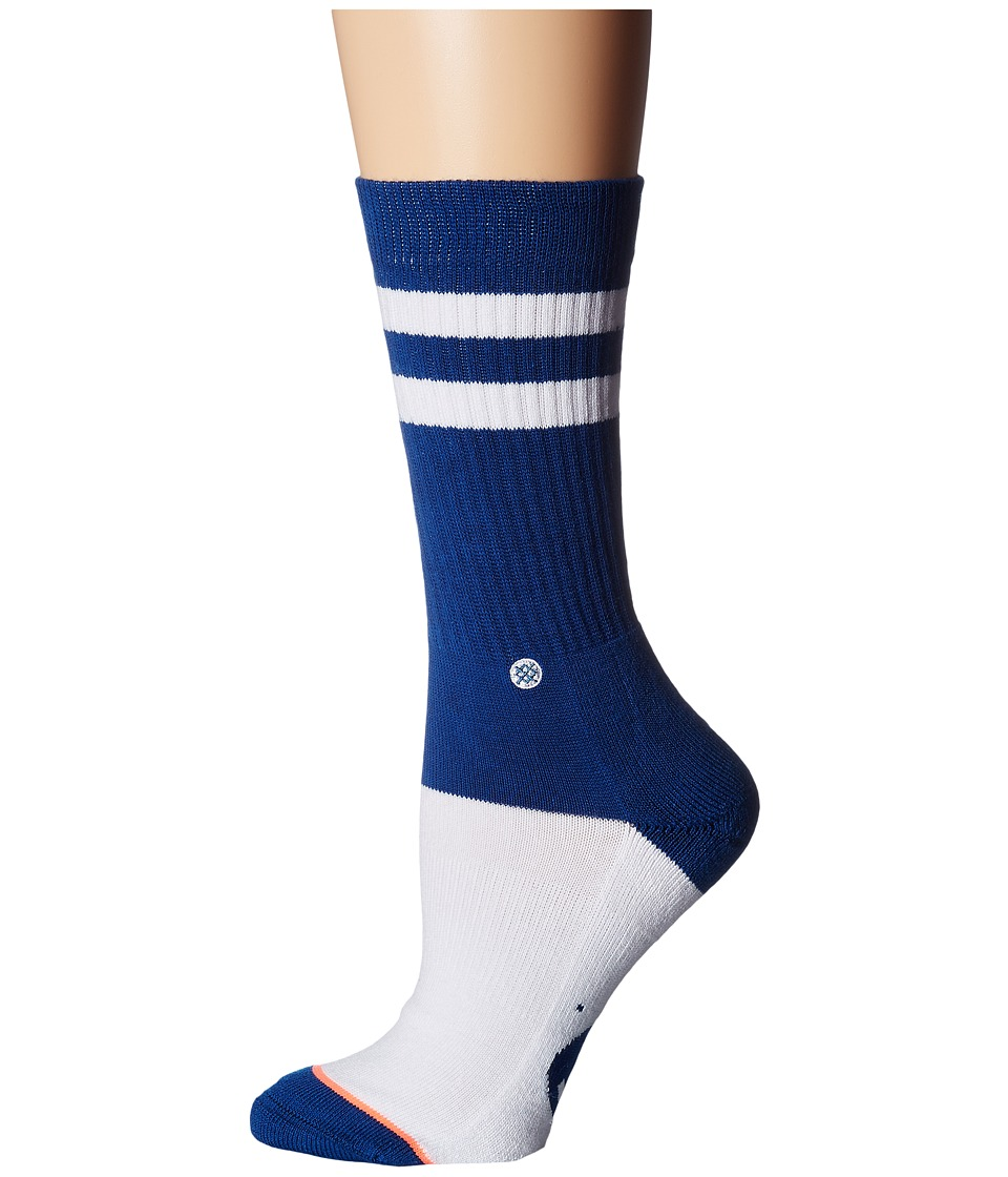 Stance - Cougs Classic Crew (Navy) Women's Crew Cut Socks Shoes
