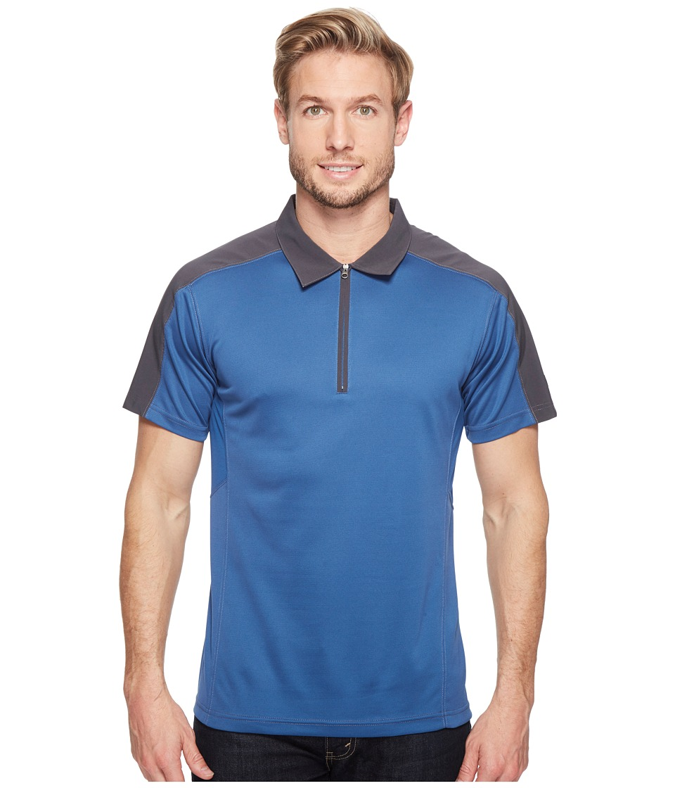 KUHL - Shadow Polo (Blue Depth) Men's Clothing
